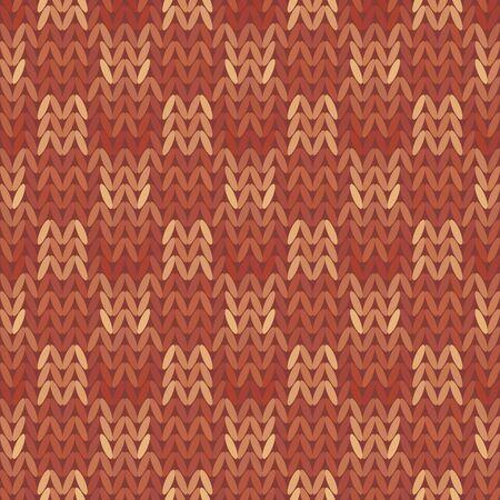 knitwear: Beautiful geometric pattern Knitwear, Knit Style, Seamless texture Vintage vector illustration. 10 EPS