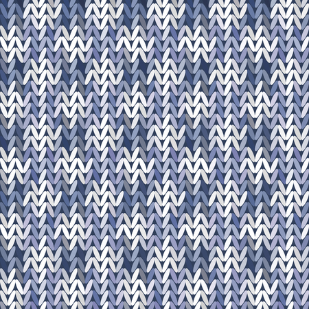 knitwear: Beautiful geometric pattern Knitwear, Knit Style, Seamless texture Vintage vector illustration.