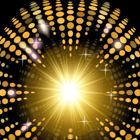 realización: Fondo del disco de versiones con efectos de luz para la realizaci�n de su idea y negocio