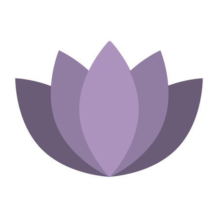 Icon lotus flower Collection Time for meditation for your project. Vector