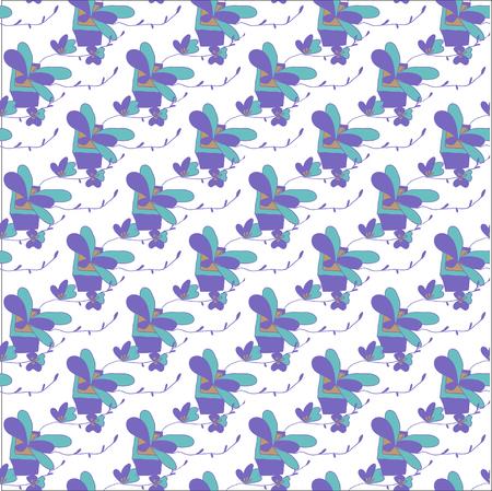 패턴 꽃병 램프 중국 스타일, 벡터 일러스트 레이 션입니다.