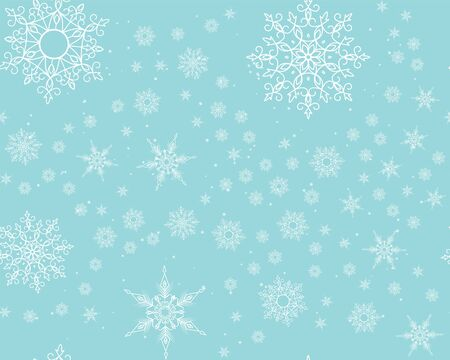 snowstorm: Winter card snowflake pattern. Winter frosty background. Christmas. Snowfall. Snowstorm. New Year. Weather. Vector paper illustration.