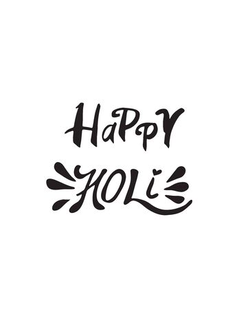 gulal: Abstract holiday background Happy Holi colors India. Vector background Illustration