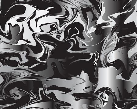Marble silver texture seamless pattern Standard-Bild