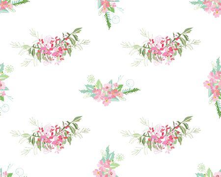 Sommerblumenzusammensetzung Illustration