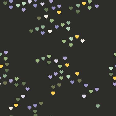 Romantisches abstraktes Scrapbooking Papier. Vector Hintergrund für Ihre Kreativität. Illustration