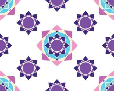 Elegante Verzierungen Geometrische Mandala. Alte dekorative Ornament-Muster. Von Hand gezeichnet kreative Vorlage, Vektor