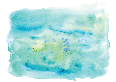 Abstract colorful watercolor background. Digital art painting. Vector illustration