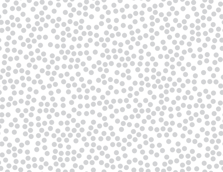 Seamless background with geometric ornament from a circle shape Stock Photo
