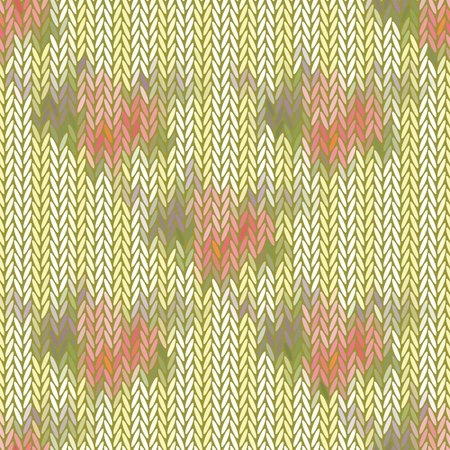 Seamless vector chevron pattern with abstract elements painted randomfor fabric, textile, or wallpaper design