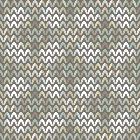 Seamless Vector Chevron Pattern With Abstract Elements Painted Randomfor Fabric, Textile, Or Wallpaper Design 일러스트
