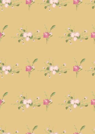 Floral carnation retro vintage background, vector illustration 일러스트