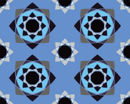 Elegant Ornaments Geometric Mandala Illustration