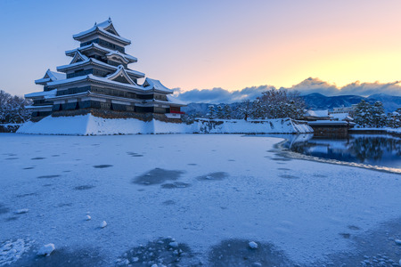 Matsumoto Castle in Winter, Japan