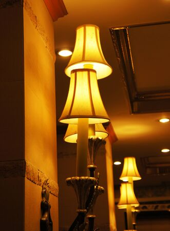vintage wall lamp photo