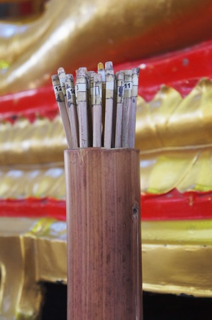 tell fortune: soothsaying, shake bamboo cylinder for fortune tell