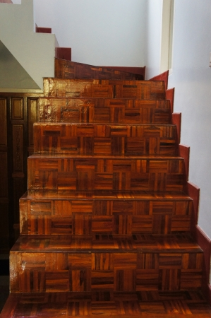 wooden staircase Stock Photo - 20154706