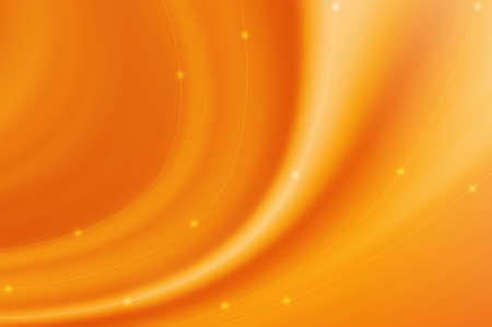 Abstract curve background - orange color                    photo