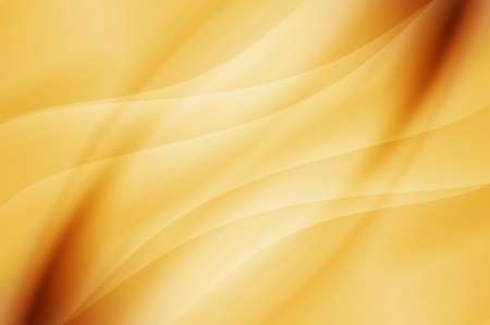 Abstract curve background - yellow color           Фото со стока