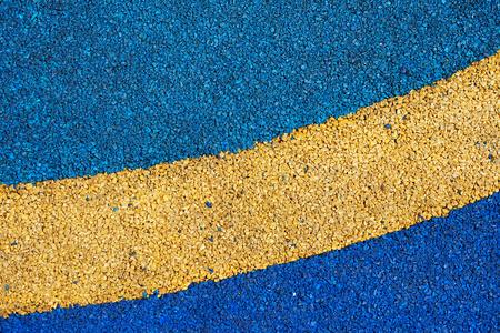 monomer: Texture of color rubber floor on playground. ( Ethylene Propylene Diene Monomer EPDM) Stock Photo