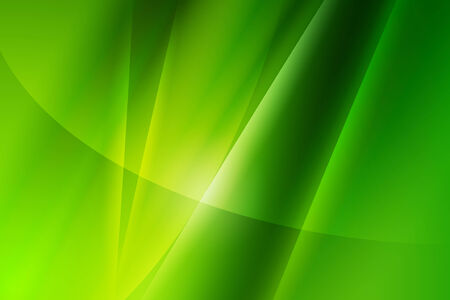 Abstract green gradient background with line and curve Stock Photo