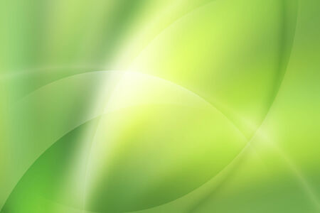 curve line: green curve and line abstract background