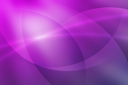 violet purple: abstract line and curve on purple  gradient background Stock Photo