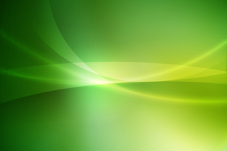 glossy line on green gradient abstract background