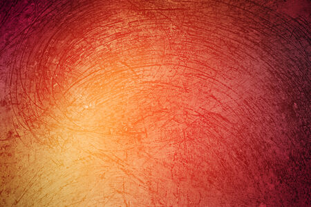 grunge texture on yellow to red gradient abstract background