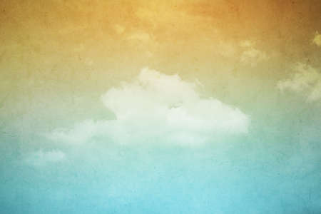 cloudscape: abstract grunge cloudscape background