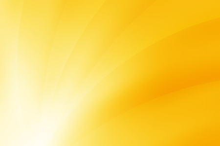 vivid yellow curve abstract background