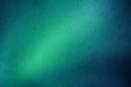 green light: green to blue gradient grunge abstract background Stock Photo