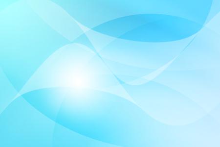 Weiß bis hellblauen Farbverlauf mit Wirbel Linie abstrakten Hintergrund Standard-Bild - 40637386