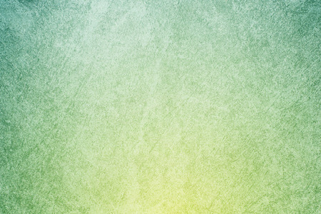 artistic designed: abstract background, yellow to green gradient color with designed concrete texture