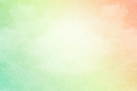 pastel colour: pastel gradient color on cloudscape with grunge paper texture