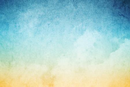 cloudscape met grunge textuur abstracte achtergrond
