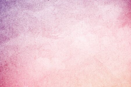 cloudscape: artistic fluffy cloudscape with grunge gradient paper texture Stock Photo