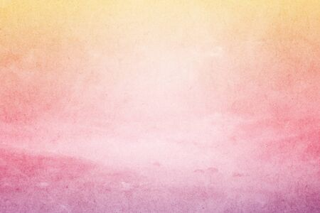 pastel backgrounds: fantastic fluffy cloud and sky abstract background with grunge paper  texture Stock Photo