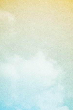 fantastic soft cloud and sky abstract background with grunge paper  texture