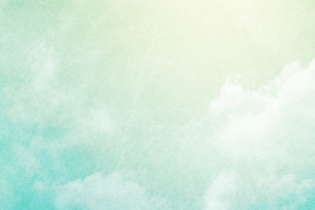 fantastic soft cloud and sky abstract background with grunge  texture Banco de Imagens