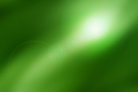 len: abstract background, green light effect with len flare Stock Photo