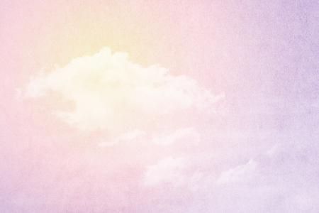 pastel backgrounds: fantasy cloud and sky abstract background with grunge paper  texture