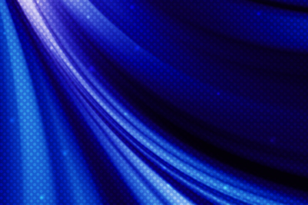 curve line: abstract blue curve line background with polka dot Stock Photo