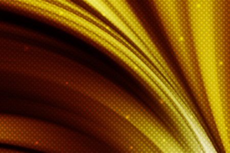 curve line: abstract gold curve line background with polka dot