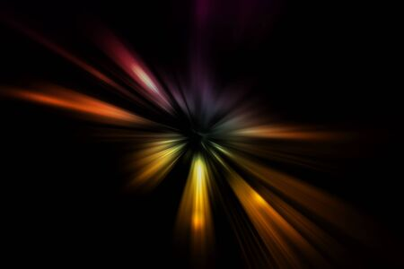 light effect: gradient color light effect abstract background Stock Photo