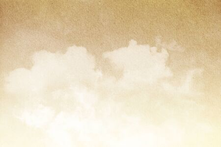 mottled: artistic cloud and sky with grunge  paper texture