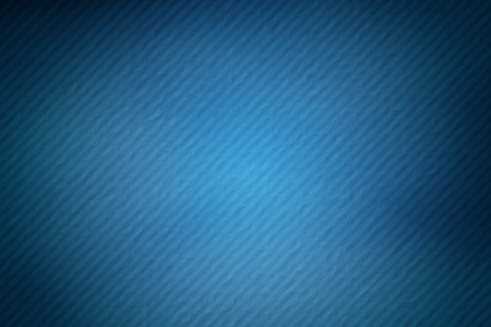 blue stripe: blue gradient color on mulberry paper with stripe line Stock Photo