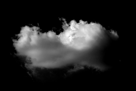 background designs: soft white cloud isolated on black background