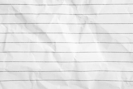 crumple: crumpled white paper texture background Stock Photo