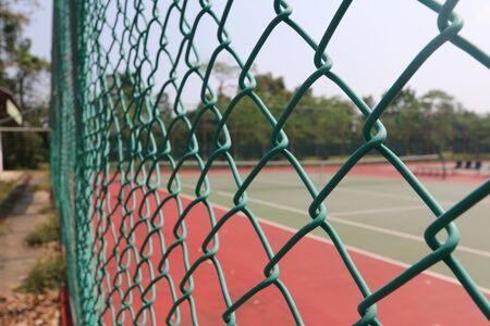 net: Tennis court